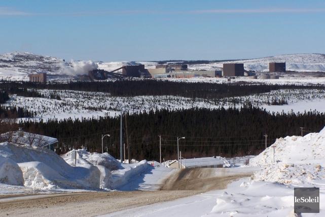 La mine Scully, au Labrador... (Photothèque Le Soleil)