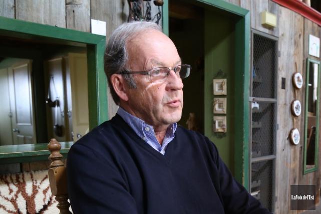 Le président de la SACS,Marcel Bundock... (Janick Marois, archives La Voix de l'Est)