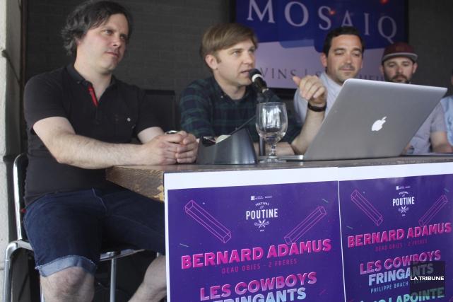 Les promoteurs du Festival de la poutine, les... (La Tribune, Yanick Poisson)