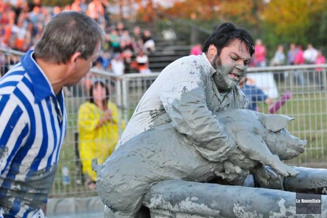 Le Festival du cochon de Sainte-Perpétue a dévoilé... (Archives, Le Nouvelliste)