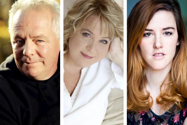 Luc Senay, Sonia Vachon et Florence Longpré feront... (Photos fournies par ICI Radio-Canada télé)