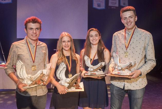 Nommés élève-athlètes masculin et féminine de l'année au... (Spectre Média, Frédéric Côté)