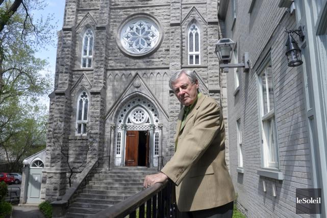 Le père Marc-André Gingras, supérieur de la Maison... (Le Soleil, Jean-Marie Villeneuve)