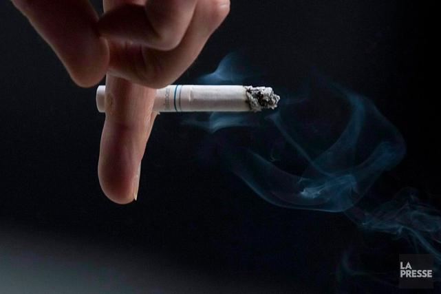 Les scientifiques expliquent que la nicotine interfère notamment... (Archives La Presse Canadienne)