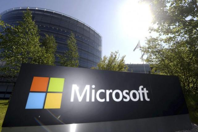 Dans un communiqué, Microsoft a rendu publique sa... (PHOTO VESA MOILANEN, ARCHIVES AFP)
