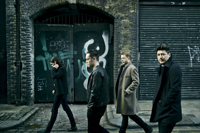 Le groupe londonien Mumford and Sons sera en... (James Minchin III)