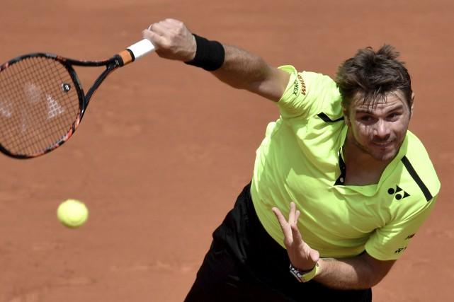 Stan Wawrinka avait déjà souffert au premier tour... (AFP, Philippe Lopez)