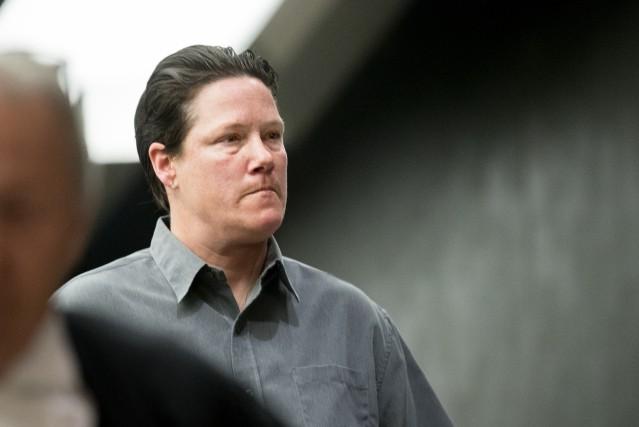 L'ex-policière Stéfanie Trudeau... (PHOTO MARCO CAMPANOZZI, LA PRESSE)