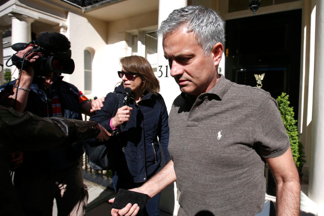 Jose Mourinho... (Photo Peter Nicholls, Reuters)