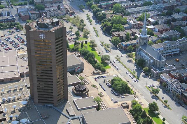 La nouvelle Maison de Radio-Canada devrait voir le... (Archives, La Presse)