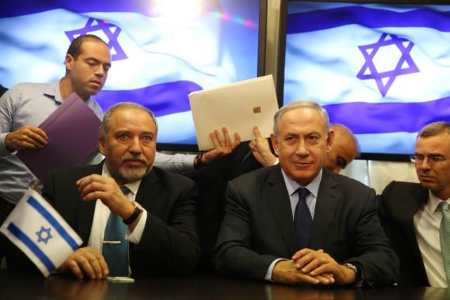 «La première chose à laquelle je m'engage, c'est... (PHOTO MENAHEM KAHANA, AFP)