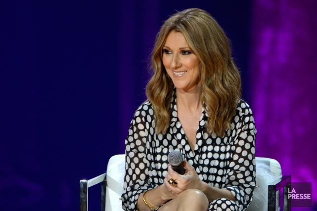 Céline Dion et 64 autres célébrités participeront auRed... (PHOTO BERNARD BRAULT, ARCHIVES LA PRESSE)