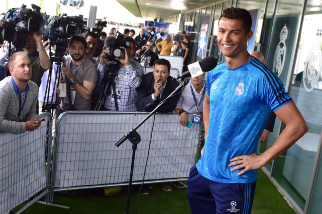 Cristiano Ronaldo... (Photo Gerard Julien, AFP)
