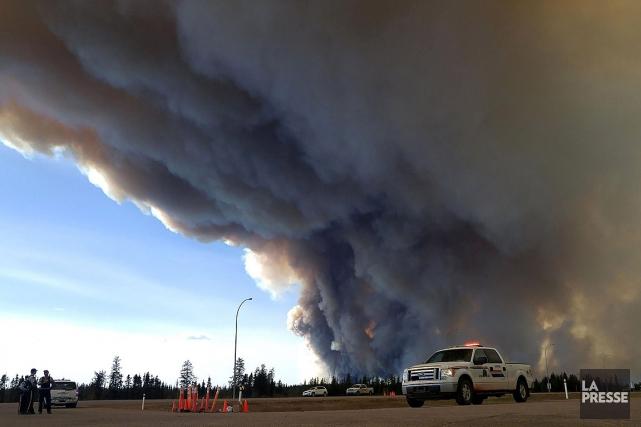 «Le deuxième trimestre sera beaucoup plus faible que... (PHOTO ALBERTA RCMP via AFP)