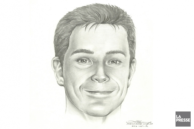 Ce portrait de David Fortin a étéréalisé par... (PHOTO VIA PC)