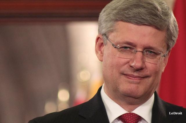 L'ancien premier ministre conservateur Stephen Harper quittera sous... (Étienne Ranger, Archives LeDroit)