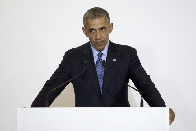 «Je veux souligner que les États-Unis sont consternés... (PHOTO CAROLYN KASTER, ARCHIVES AP)
