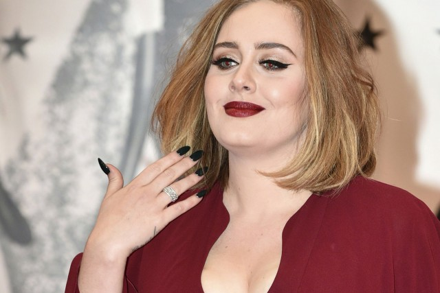 Adele... (PHOTO ARCHIVES AFP)
