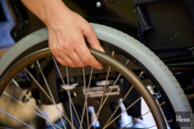 Un tout petit organisme qui aide les personnes handicapées à trouver du travail... (Photo Archives La Presse)