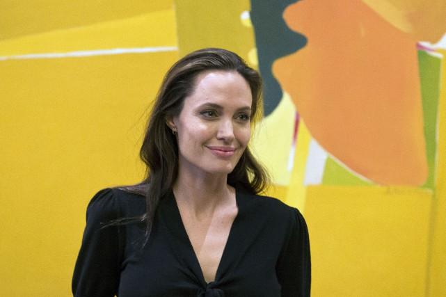 Angelina Jolie... (Archives AP, Petros Giannakouris)