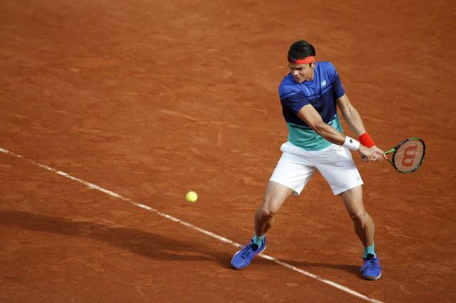 Milos Raonic a défait Adrian Mannarino 6-1, 7-6... (Associated Press)