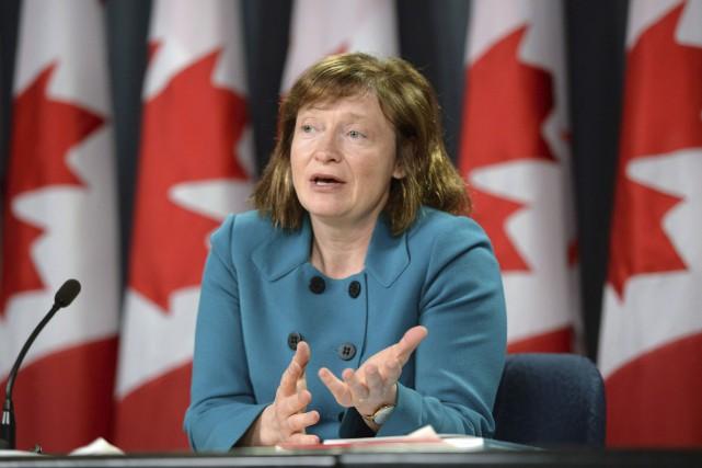 La commissaire à l'information du Canada, SuzanneLegault, a... (La Presse Canadienne, Sean Kilpatrick)
