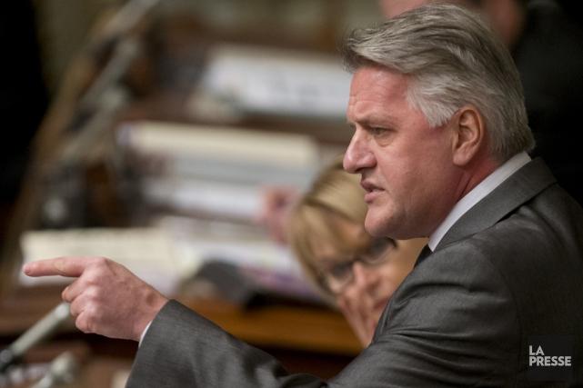 Le ministre des Forêts, Laurent Lessard, a fait... (Archives La Presse)