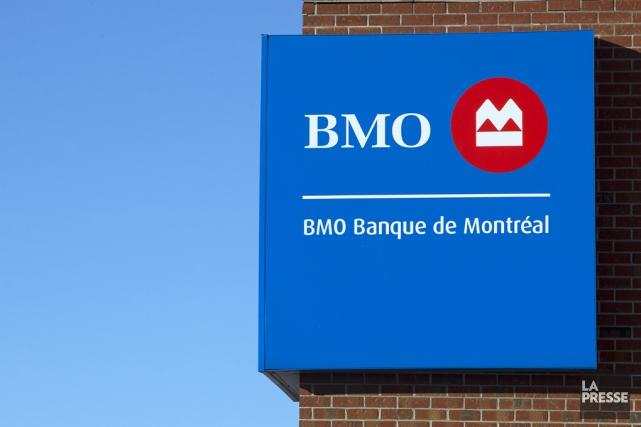 Le bénéfice de la Banque de Montréal a... (Archives La Presse)