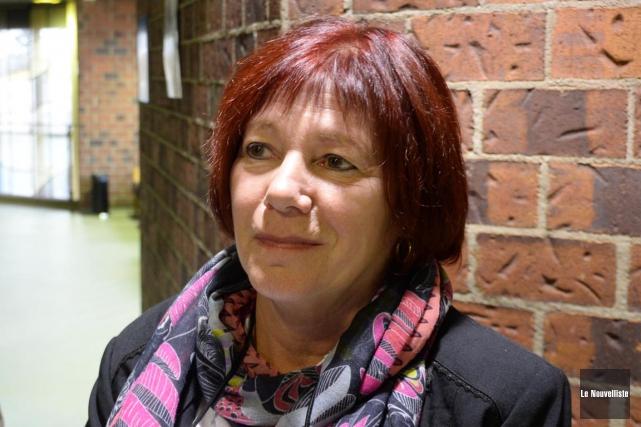 Liliane Guay, présidente de la Coalition contre le... (Sylvain Mayer, Le Nouvelliste)