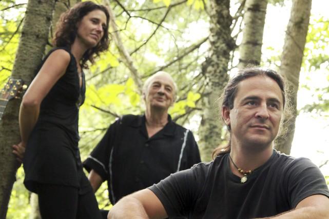 Lyne Lamontagne, Jean-Serge Bergeron et Yannick Viens du... (Photo fournie)
