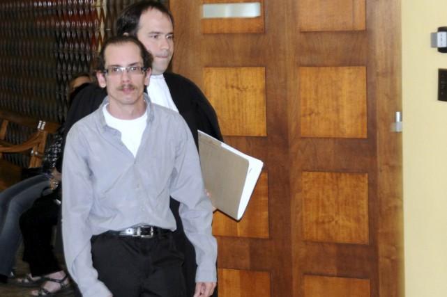 Simon Lajeunesse-Black est accusé de voies de fait... (Collaboration spéciale, Éric Beaupré)