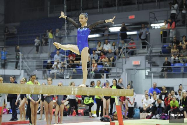 Plus de 800 gymnastes ont participé au Challenge... (Archives Le Quotidien, Gimmy Desbiens)