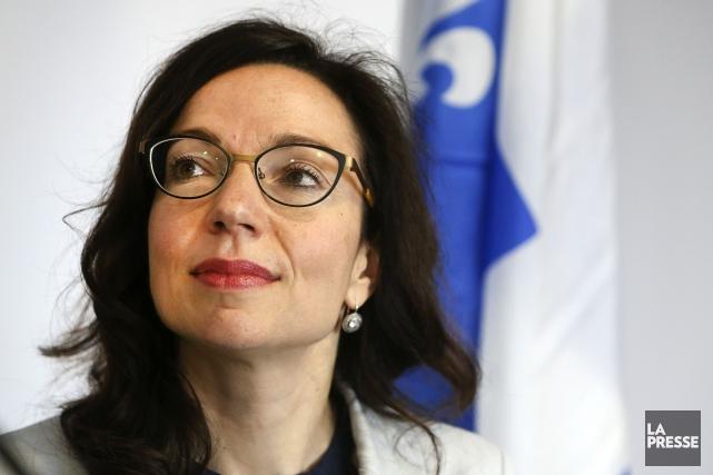 La député du PQ Martine Ouellet n'est toujours... (La Presse, Robert Skinner)