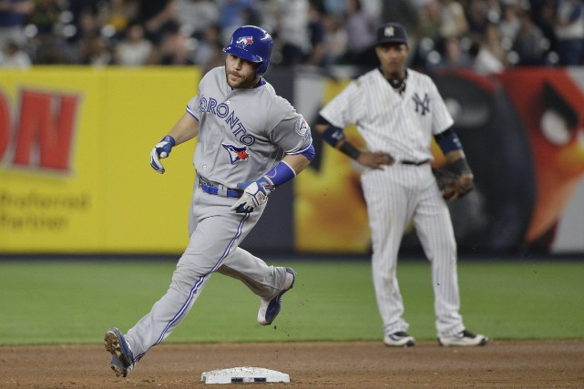 Russell Martin a frappé deux circuits dans la... (Photo Julie Jacobson, AP)