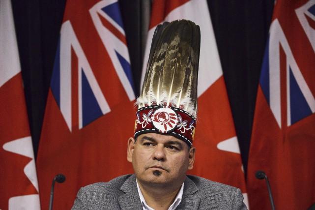 Le chef régional pour l'Ontario de l'Assemblée des... (Archives PC)