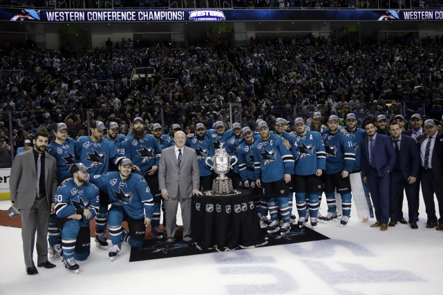 Les Sharks de San Jose participeront à la... (Photo Marcio Jose Sanchez, AP)