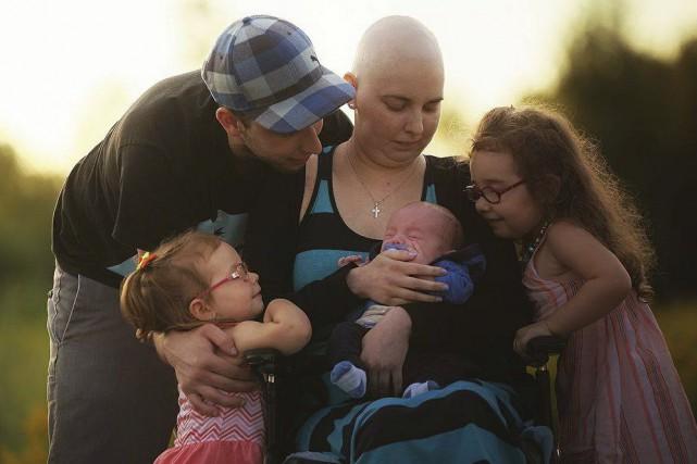 Catherine Beaudoin et sa petite famille bénéficieront d'une... (Photo fournie)