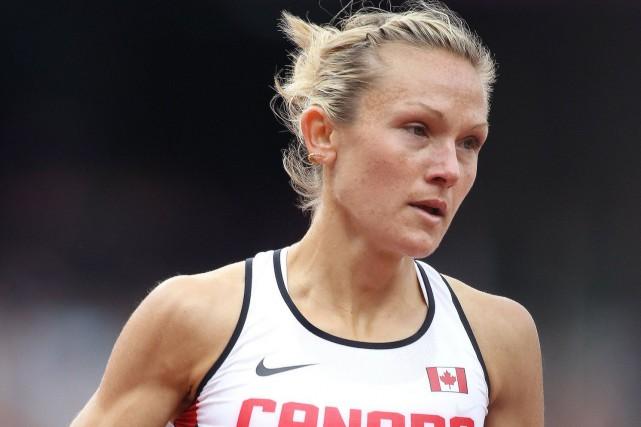 Hilary Stellingwerff afait invalider un règlement d'Athlétisme Canada... (Photo fournie par Hilary Stellingwerff)