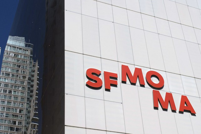 Le SFMOMA est situé en plein coeur du... (PHOTO AFP)