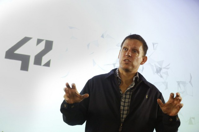 Peter Thiel dit avoir financé la poursuite parce qu'il... (PHOTO JACKY NAEGELEN, ARCHIVES REUTERS)