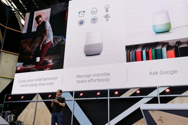 Google a ainsi donné la semaine dernière un... (PHOTO AP)