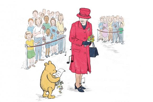 Winnie l'Ourson, qui célèbre cette année ses 90 ans, s'offre pour son... (Image tirée du site internet)