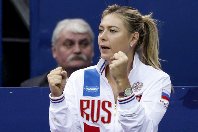 Maria Sharapova a été provisoirement suspendue en mars dernier... (Photo Grigory Dukor, archives Reuters)