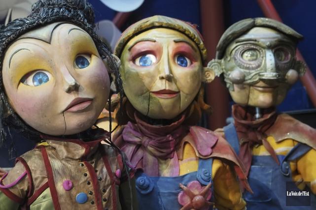 La nouvelle création du Théâtre de la Dame... (archives La Voix de l'Est)