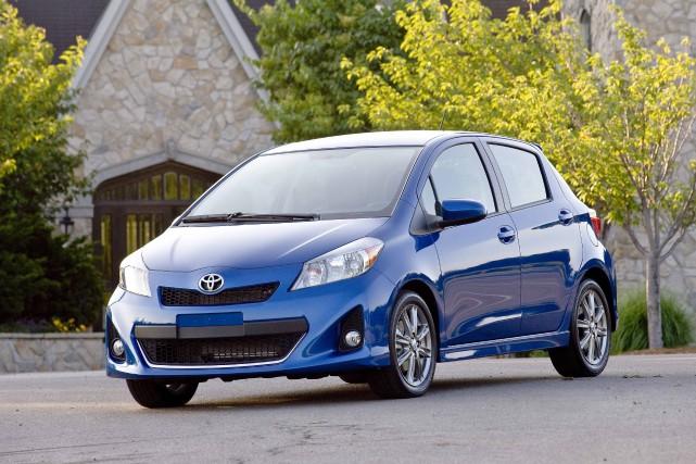 La Toyota Yaris de 3e génération n'est pas... (Photo Toyota)