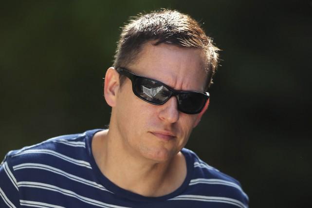 Peter Thiel avait lui-même été pris pour cible... (AFP, Scott Olson)