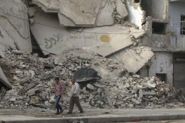 Depuis le début de la révolte contre le... (PHOTO KHALIL ASHAWI, REUTERS)