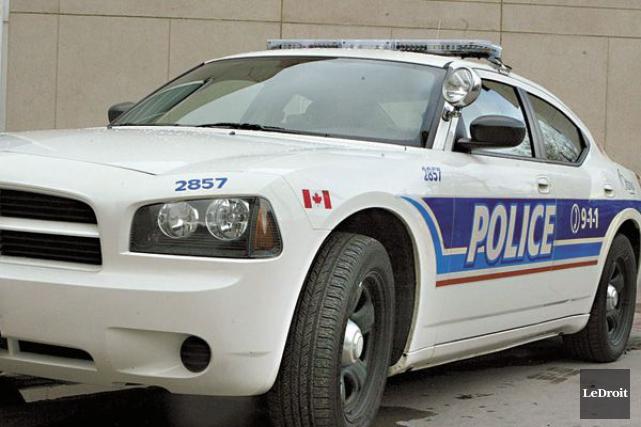 La police d'Ottawa est toujours à la recherche... (ARCHIVES, LeDroit)