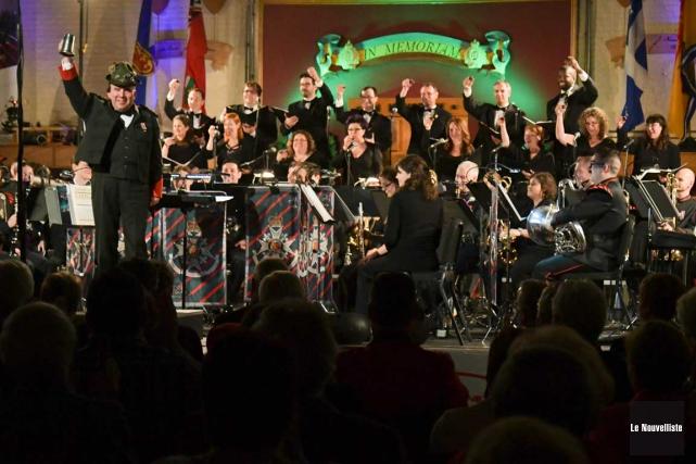 Concert gala-bénéfice pour le Musée du 12e Régiment blindé du... (Andréanne Lemire, Le Nouvelliste)