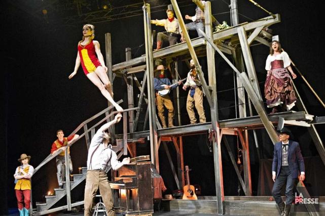 Le Cirque Éloize présentera lors des trois prochaines... (Patrick Sanfaçon, La Presse)